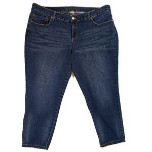 Faded Glory medium wash blue jeans, size 22